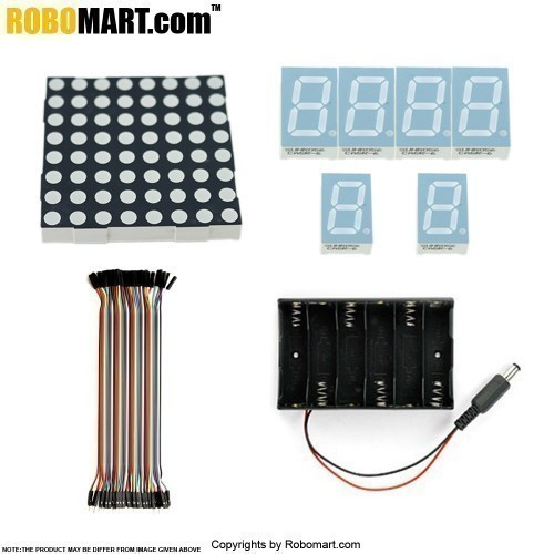 Robomart Arduino Uno R3 2 Channel 12V Relay Starter Kit With 18 Basic Arduino Projects
