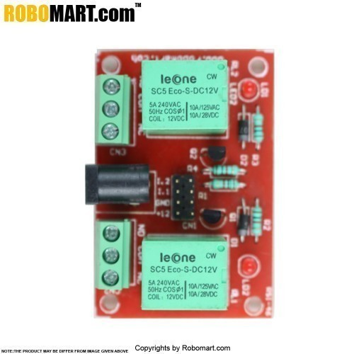 Buy Robomart Arduino Uno R3 2 Channel 12V Relay Starter Kit With 18