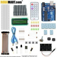 UNO R3 Starter Kit With Basic Arduino Projects