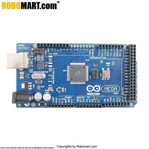 ROBOMART MEGA 2560 R3+L239D MOTOR DRIVE SHIELD STARTER KIT WITH BASIC ARDUINO PROJECTS