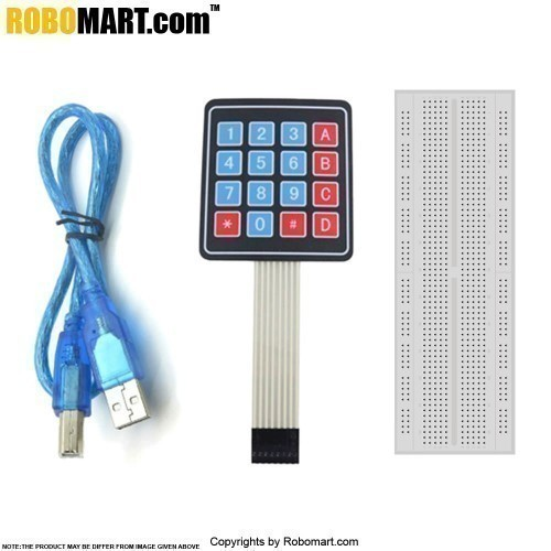 Arduino Mega 2560 R3 Keypad Kit With Basic Projects