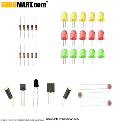 ROBOMART MEGA2560 R3+2-Channel 12V Relay Starter Kit With 18 Basic Arduino Projects