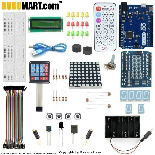 robomart leonardo r3 keypad kit with basic arduino projects