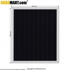 2.5 Wp  8.73V Solar Panel for Arduino/Raspberry-Pi/Robotics