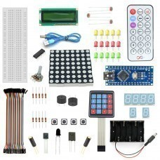 Robomart Nano V3 Keypad Kit With Basic Arduino Projects