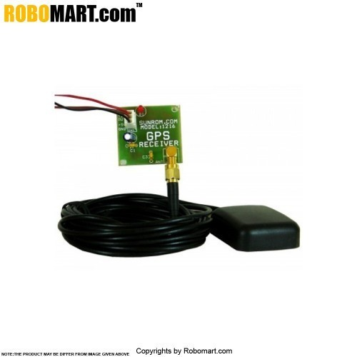 GPS Receiver with Active Antenna