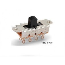 Two Pole Three Way Sliding Switch