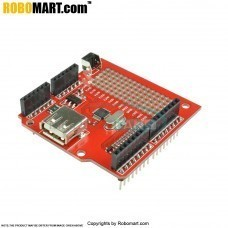 USB Host Shield Support Google Android ADK & Arduino