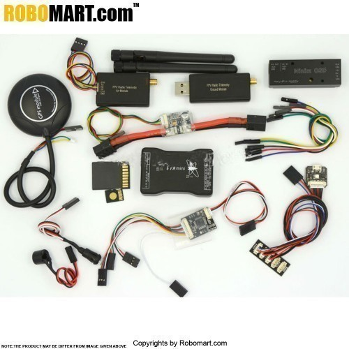 Mini Pixhawk Flight Control 32bit Pixhawk2.4.6 NEO M8N GPS Power Module Minin Osd 433 Telemetry