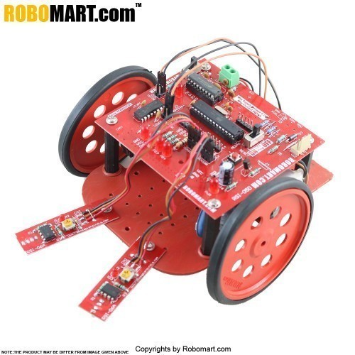 High Quality College Autonomous Robotics Workshop Kit using Atmega 8 used by All Workshop Companies/College Clubs/Entrepreneurs