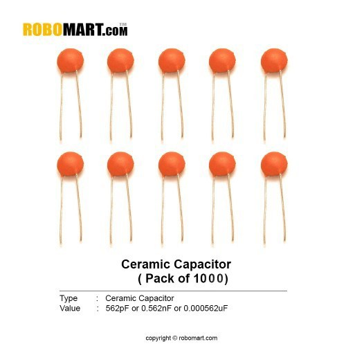 562 pf ceramic capacitor