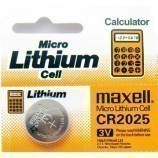 CR2025 3V Lithium Coin Battery