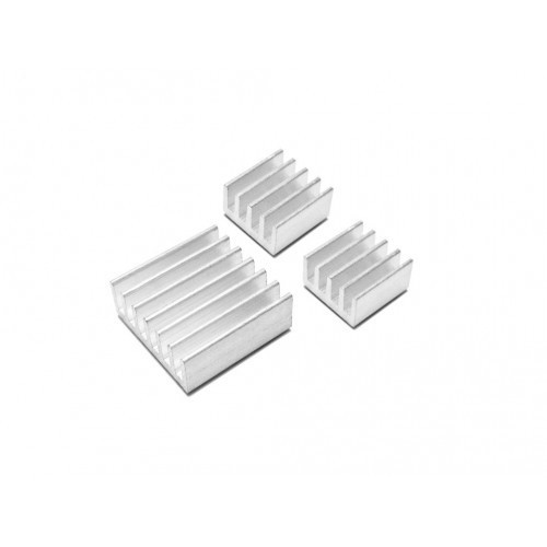aluminium heat sink for raspberry pi