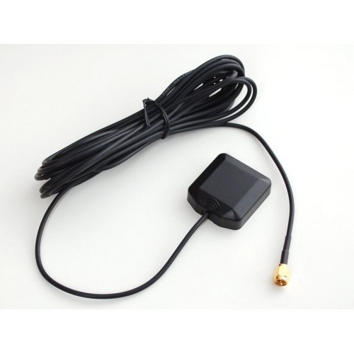 GPS SMA Antenna 3-5V 28dB 5m (External, Active)