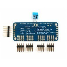 16 Channel 12 Bit PWM and Servo Driver