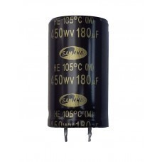 180µF 450v Electrolytic Capacitor