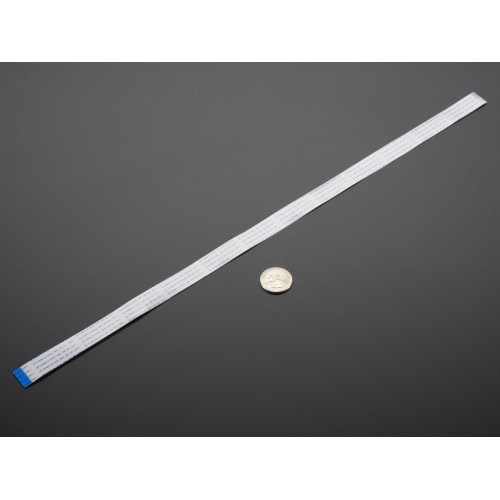 "Flex Cable for Raspberry Pi Camera or Display - 24"" / 610mm"
