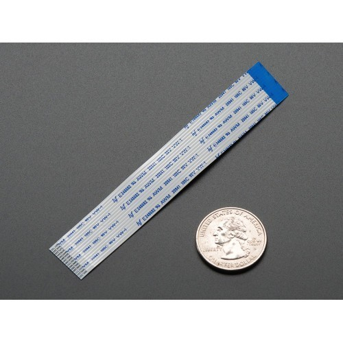 Flex Cable for Raspberry Pi Camera or Display - 100mm / 4""