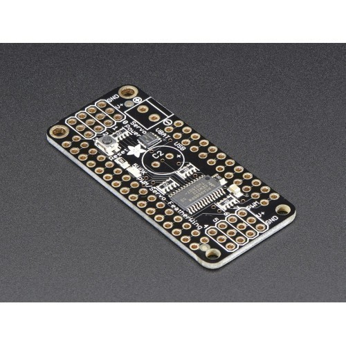 8-Channel PWM or Servo FeatherWing Add-on For All Feather Boards