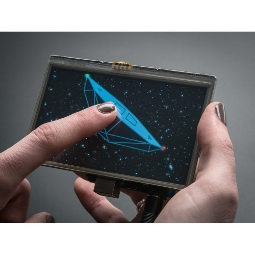 "Gameduino 2 with 4.3"" 480x272 Display and Touchscreen"