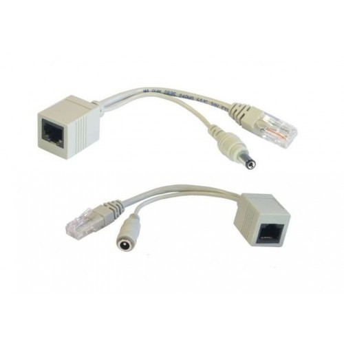 Passive PoE Injector Cable Set