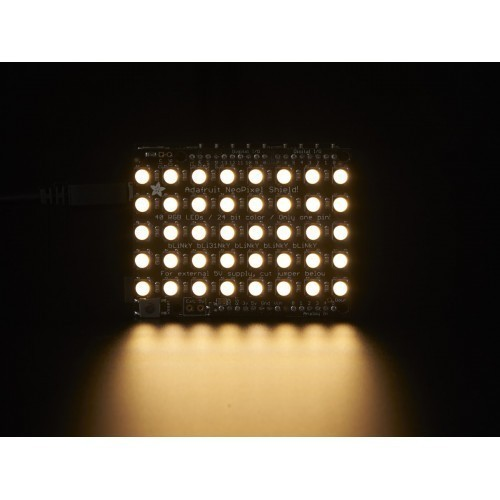 Adafruit NeoPixel Shield - 40 RGBW - Warm White - ~3000K