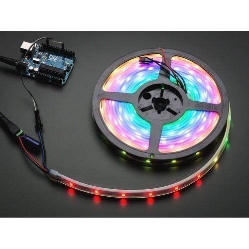 Adafruit NeoPixel Digital RGB LED Strip - White 30 LED - WHITE