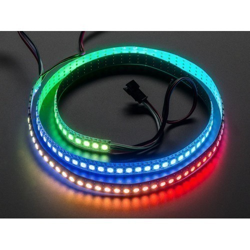 Adafruit NeoPixel Digital RGB LED Strip 144 LED - 1m Black - BLACK