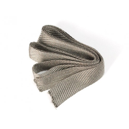 Stainless Steel Conductive Ribbon - 17mm wide 1 meter long