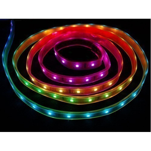 Digital RGB LED Weatherproof Strip - LPD8806 32 LED