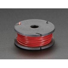 Stranded-Core Wire Spool - 25ft - 22AWG - Red