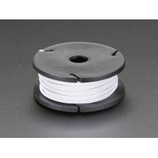 Solid-Core Wire Spool - 25ft - 22AWG - White