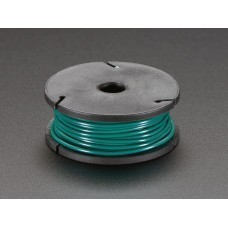 Solid-Core Wire Spool - 25ft - 22AWG - Green