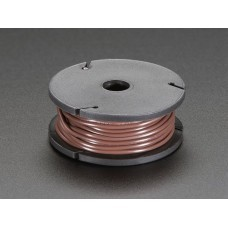 Stranded-Core Wire Spool - 25ft - 22AWG - Brown