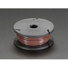 Solid-Core Wire Spool - 25ft - 22AWG - Brown