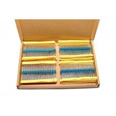 Mega Resistor Pack with 71 Value (710 Pieces) 0 Ohm to 10 M