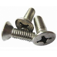 C.S.K Philips Machine Screw (Dia - 4mm, Length - 25mm)-Pack of 10