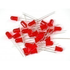Red LED 5mm (Pack of 1000)