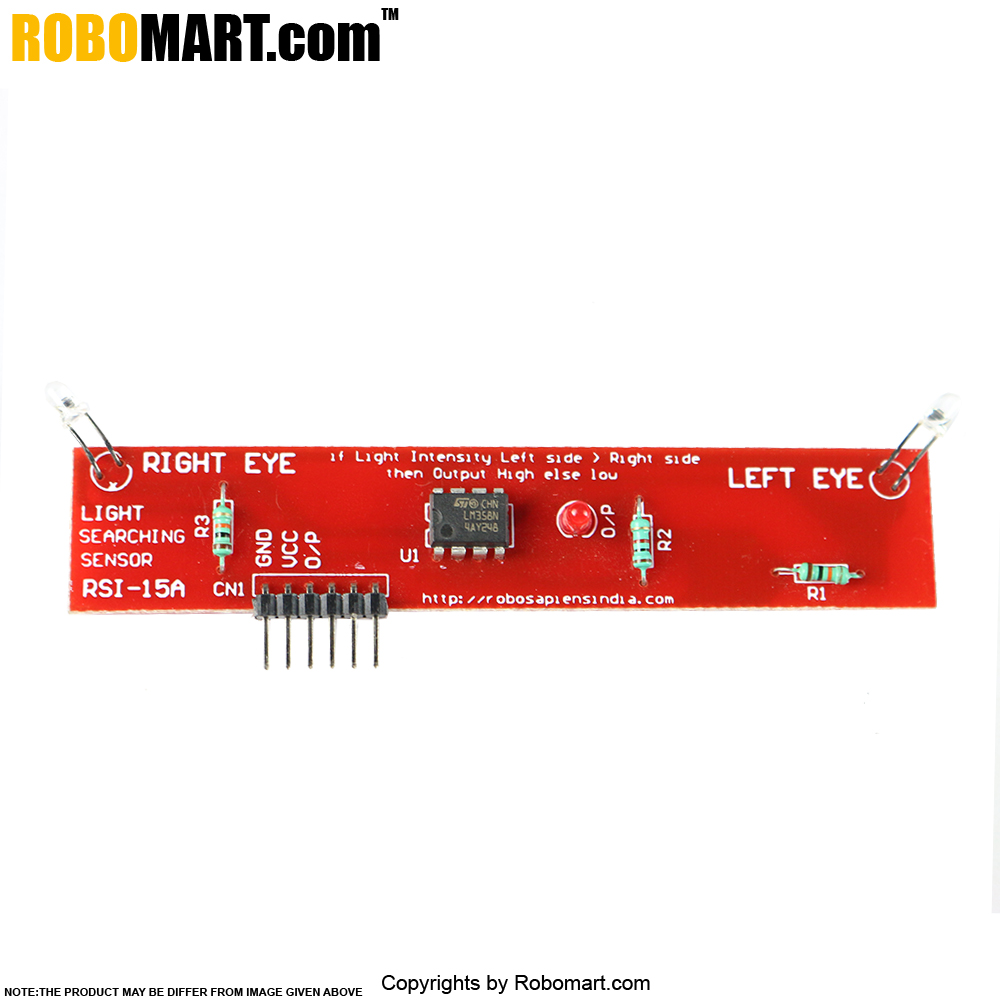 Light Searching Sensor