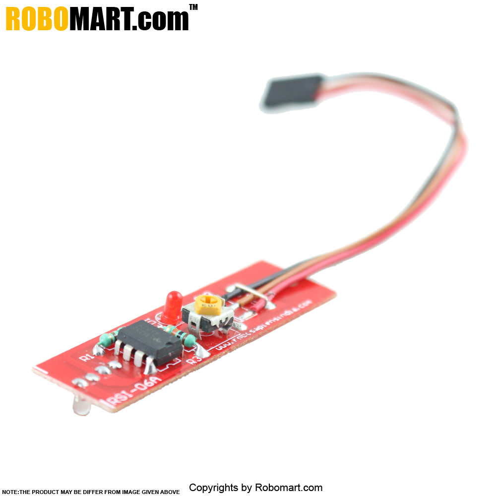 Buy Ir Based Digital Color Sensor Black And White Robomart To Rf Converter Circuit For Arduino Raspberry Pi Robotics