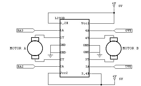 L293d Dual H Bridge Motor Driver Ic on arduino wiring schematic