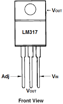 LM317 3-Terminal Adjustable Linear Voltage Regulator