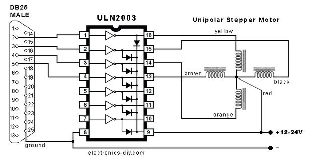 uln2003 linear integrated circuit buy online in india robomart rh robomart com Process Logic Diagram Process Logic Diagram