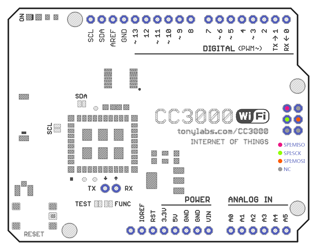 Arduino wifi shield india cc3000 wifi shield for arduino r3 with cc3000 wifi shield for arduino r3 with sd card supports mega 2560 pooptronica Choice Image