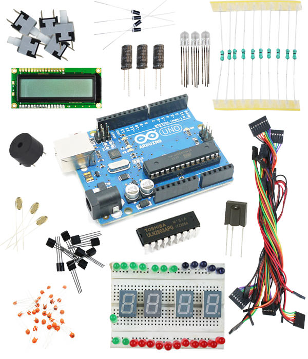 Buy advanced arduino uno r study kit robomart