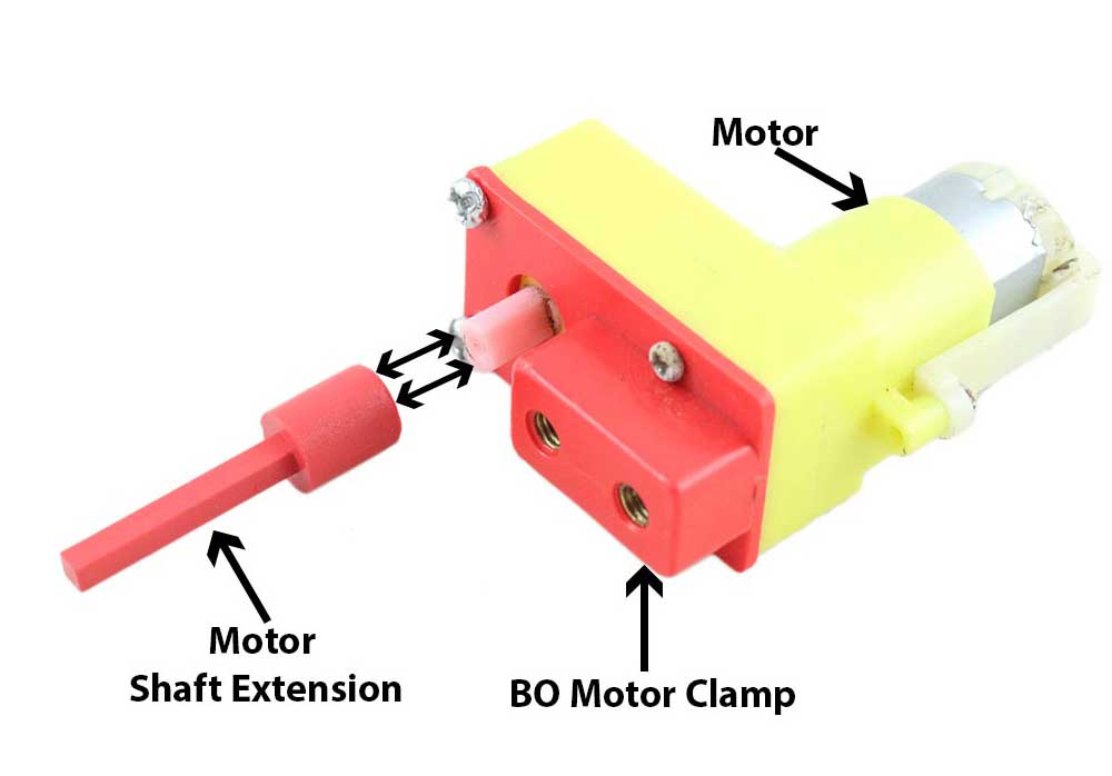 Motor Shaft Extension for iMechano/Mechanzo