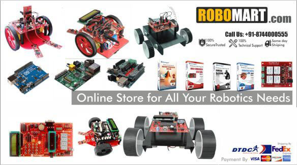 Robomart Online Store For All Your Robotic Needs